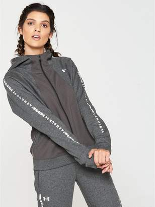 Under Armour Ottoman Full Zip Fleece Hoodie - Grey