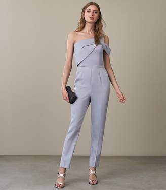 Reiss Mandi One Shoulder Jumpsuit