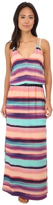 Vix Reef Taysa Long Dress Cover-Up $196 thestylecure.com