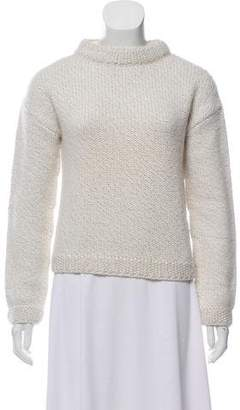 Courreges Wool Knit Sweater