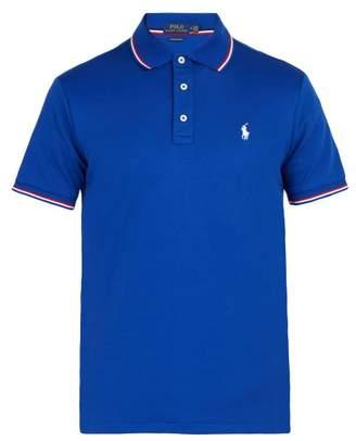 Polo Ralph Lauren Slim Fit Cotton Polo Shirt - Mens - Blue