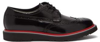 Paul Smith Crispin Patent Leather Brogues - Mens - Black