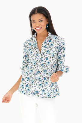 The Shirt by Rochelle Behrens Floral Popover Shirt