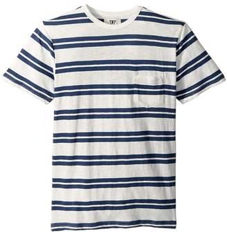 VISSLA Kids Breakout Knit Top Short Sleeve Boy's Clothing