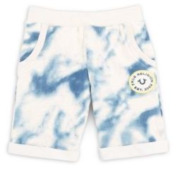 Little Boy's Rollover-Cuff Printed Shorts $59 thestylecure.com