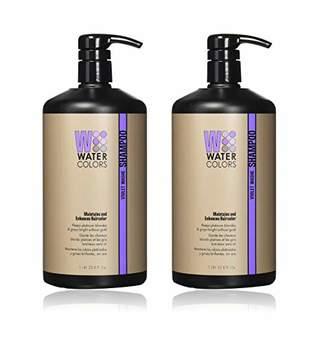 Tressa Watercolors Color Maintenance Shampoo Violet Washe 1L 33.8oz (Pack of 2)
