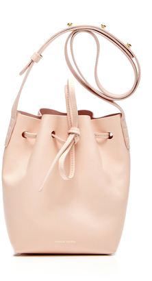 Mansur Gavriel Rosa Mini Mini Bucket Bag