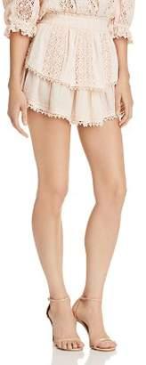Saylor Crochet Lace Mini Skirt