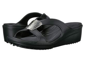 Crocs Sanrah Embellished Wedge Women's Wedge Shoes