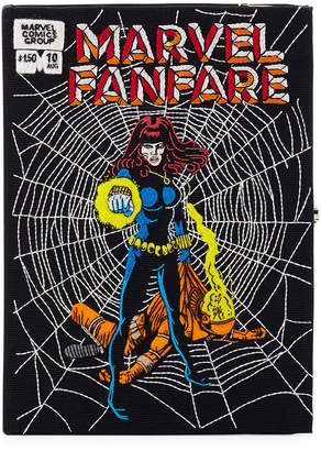 Olympia Le-Tan Olympia Le Tan MarvelA Fanfare Comic Book Clutch Bag