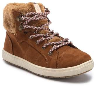 SPROX Sundance Faux Fur Hi-Top Sneaker (Little Kid & Big Kid)