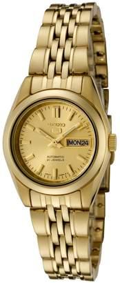 Seiko Women's SYMA38K 5 Automatic Dial -Tone Stainless Steel Watch