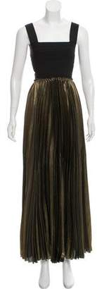 A.L.C. Cutout Pleated Dress