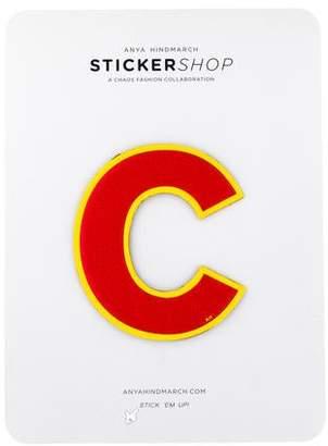 Anya Hindmarch Leather C Sticker