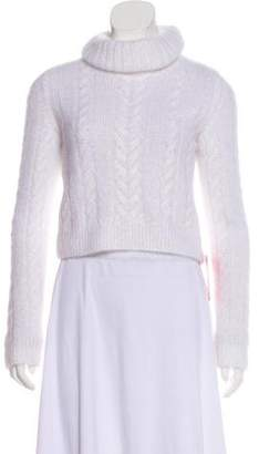 Philosophy di Lorenzo Serafini Cropped Cable Knit Sweater w/ Tags