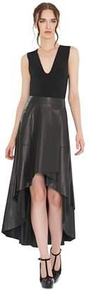 Alice + Olivia Marley V-Neck Sleeveless Bodysuit