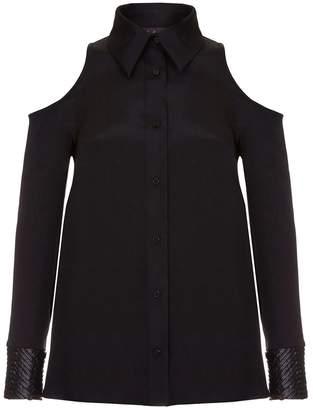 RAAB - San Black Cold Shoulder Shirt