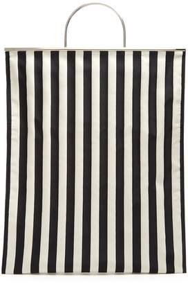Marques Almeida MARQUES'ALMEIDA Striped satin tote bag