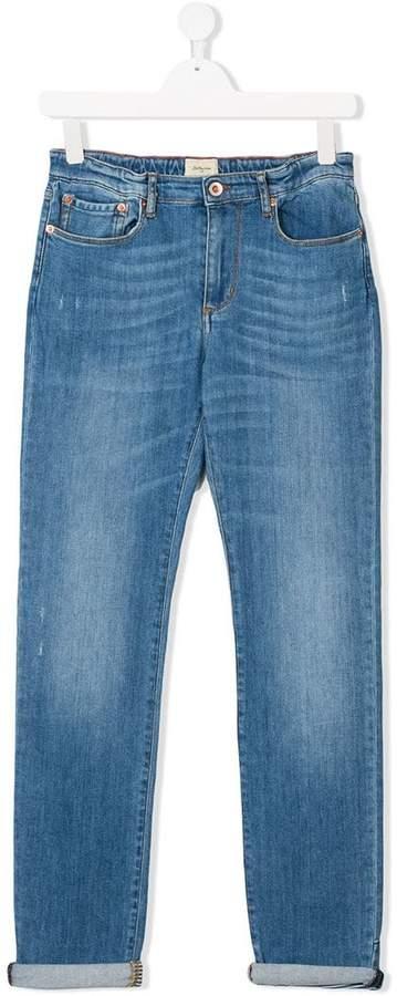 Bellerose Kids Jeans mit ausgeblichenem Effekt