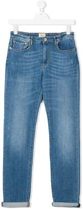 Bellerose Kids Teen faded denim jeans