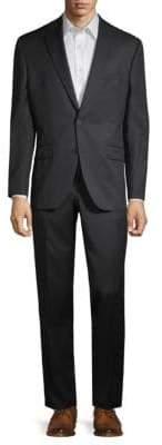 Jack Victor Classic-Fit Notch Lapel Wool Suit
