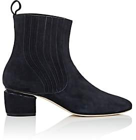 Zac Posen Women's Meryl Suede Ankle Boots - Navy