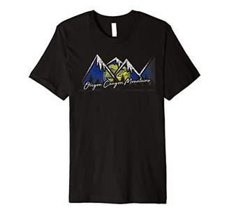 Oregon Canyon Oregon Flag Mountains Shirt State Souvenir Gif