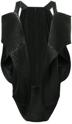 Issey Miyake Pre-Owned sculptural pleated jacket