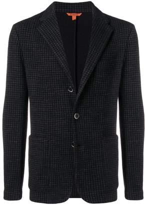 Barena flannel check blazer