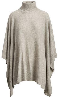 Polo Ralph Lauren Cashmere Poncho $598 thestylecure.com
