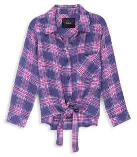 Rails Little Girl's& Girl's Valerie Plaid Top