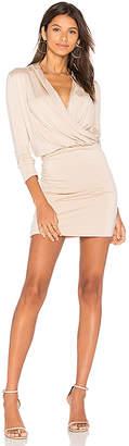 amour vert Malvina Dress in Beige $138 thestylecure.com