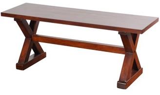 Stylecraft Generic Presley Wood Bench - Natural Brown