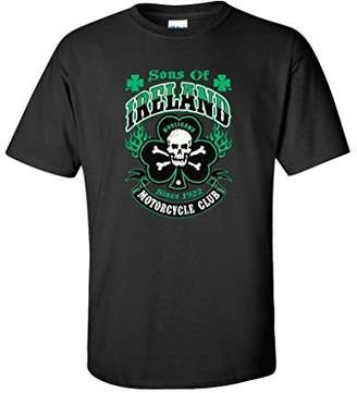 DAY Birger et Mikkelsen Feelin Good Tees Sons of Ireland Hooligans Motorcycle Club St Patrick's T Shirt XL