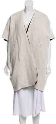 Zero Maria Cornejo Reversible Short Sleeve Coat