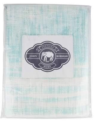 John Robshaw Two-Toned Throw Blanket w/ Tags