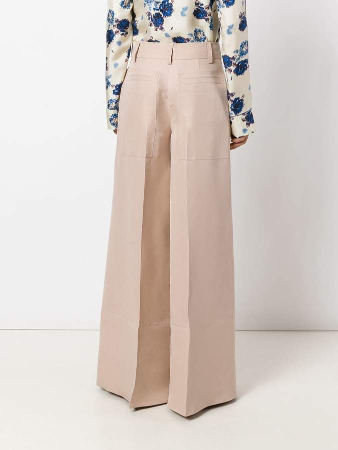 Valentino high-waisted palazzo pants