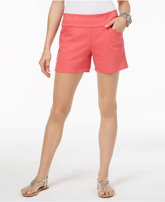 INC International Concepts I.n.c. Curvy Pull-On Shorts, Created for Macy's