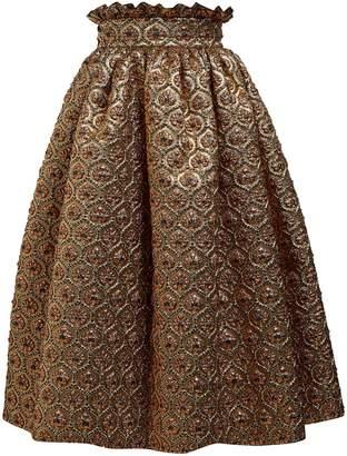 Dolce & Gabbana Matelassé-jacquard skirt