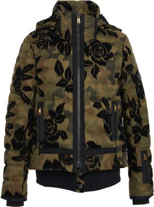 Bogner Muriel Camouflage and Floral-Print Jacket
