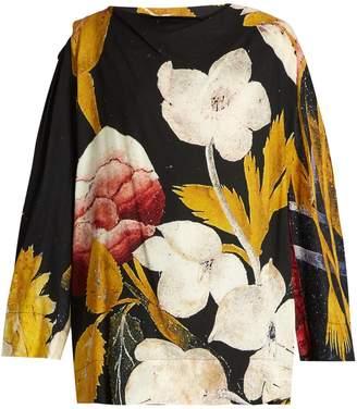 Vivienne Westwood Fatima floral-print crepe blouse