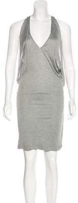 John Richmond Embellished Knee-Length Dress