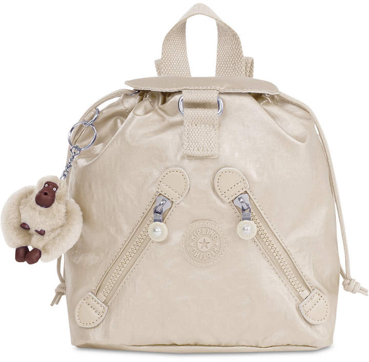 Kipling Metallic X-Small Fundamental Backpack - METALLIC MIST PURPLE - STYLE