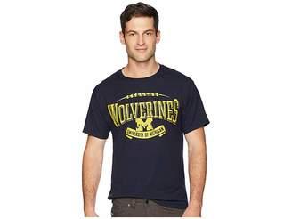 Ringspun Champion College Michigan Wolverines Tee Men's T Shirt