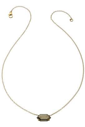 Heather Hawkins Oblong Hexagon Necklace