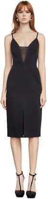 BCBGMAXAZRIA Miranda Stud-Trimmed Dress