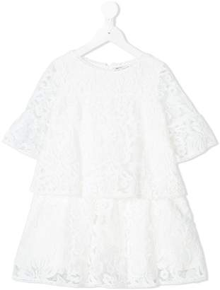 Ermanno Scervino embroidered floral dress