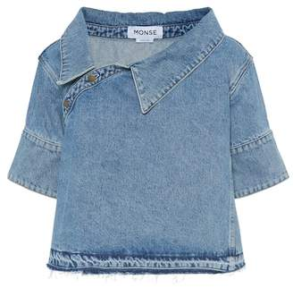 Monse Cotton denim top