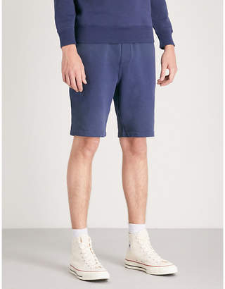 Polo Ralph Lauren Sailboat-embroidery cotton-jersey shorts