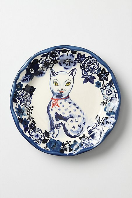 Fine Feline Plate